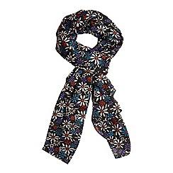 Evans - Daisy print scarf