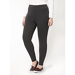 Evans - Grey ankle length leggings