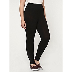 Evans - Black ankle length legging