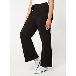 Evans - Black pear fit jersey joggers