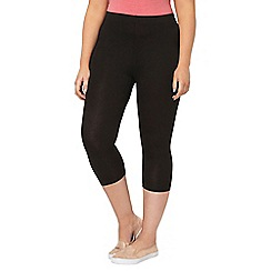Evans - Black 2 pack leggings