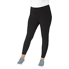 Evans - Black and navy leggings 2pack
