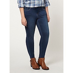 Evans - Midwash ultra stretch skinny jeans