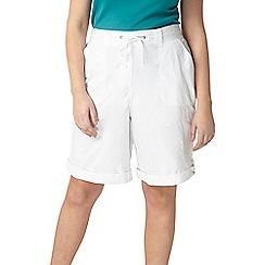 Evans - Black/white cotton shorts 2 pack