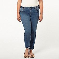 Evans - Midwash boyfriend jeans
