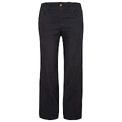 Evans - Indigo wide leg jeans