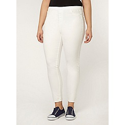 Evans - White jegging