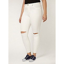 Evans - White ripped skinny jean
