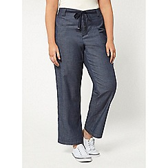 Evans - Chambray trousers