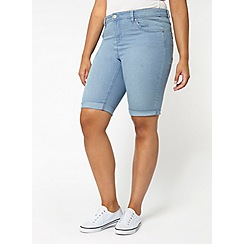 Evans - Lightwash denim shorts