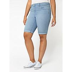 Evans - Lightwash denim shorts