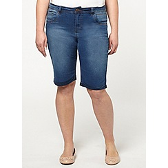 Evans - Denim midwash shorts