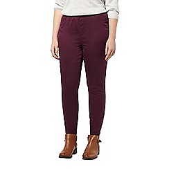 Evans - Purple jeggings