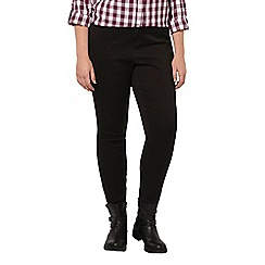 Evans - Black pear fit ultra stretch skinny jeans