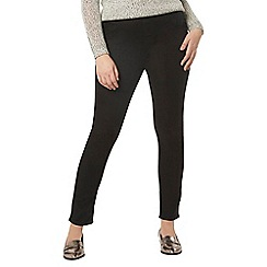 Evans - Black and indigo pack for two jeggings