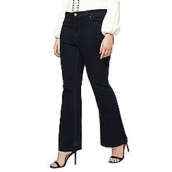 Evans - Indigo flare jeans