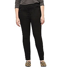 Evans - Black and indigo 2 pack jeggings