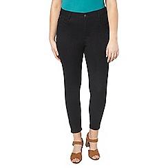 Evans - Black short skinny jeans