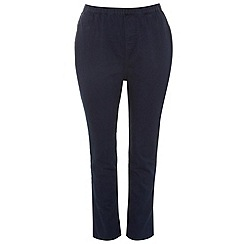 Evans - Indigo pear jeggings
