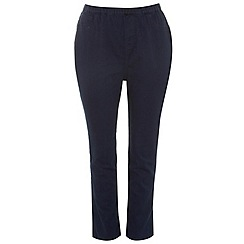 Evans - Indigo pear fit jeggings