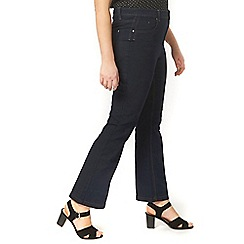 Evans - Indigo blue bootcut jeans