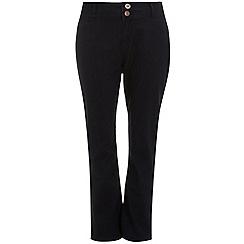 Evans - Indigo slim bootcut jeans