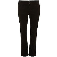 Evans - Black slim bootcut jeans