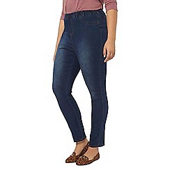 Evans - Midwash pear jeggings