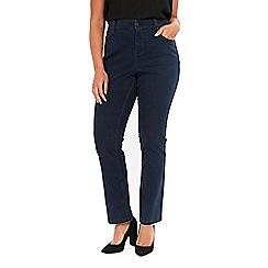 Evans - Indigo straight leg jeans
