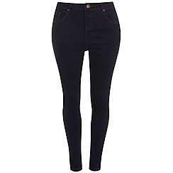 Evans - Indigo ultrastretch skinny jeans