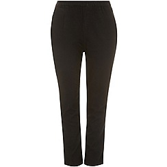 Evans - Black pear fit jeggings