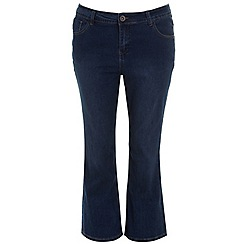 Evans - Midwash pear fit ultrastretch skinny jeans