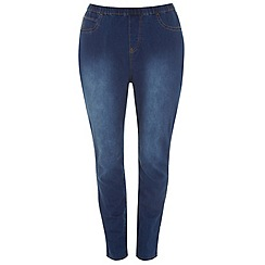 Evans - Midwash pear fit jeggings