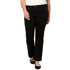 Evans - Black bootcut jeans