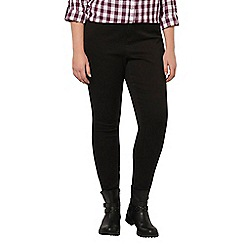 Evans - Black ultra stretch skinny jeans