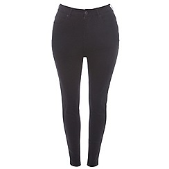 Evans - Black ultrastretch skinny jeans