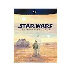 Blu-Ray - Star Wars   The Complete Saga Blu Ray