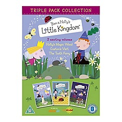 DVD - Ben And Holly's Triple Pack (Magic / Gaston / The Tooth Fairy)