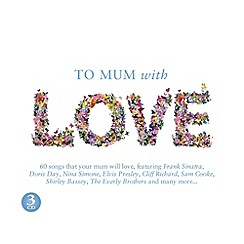 CD - To Mum With Love   Various Artists CD