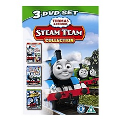 DVD - Thomas & Friends - Steam Team Collection (Splish, Splash, Splosh / Runaway Kite / Creaky Cranky)