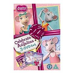 DVD - Angelina Ballerina - Celebrate With Angelina (Just Dance/It's Showtime/Sweet Valentine)