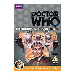 DVD - Doctor Who   The Ambassadors Of Death DVD