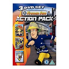 DVD - Fireman Sam - Action Pack (Help Is Here/Mountain Rescue / Snow Trouble)