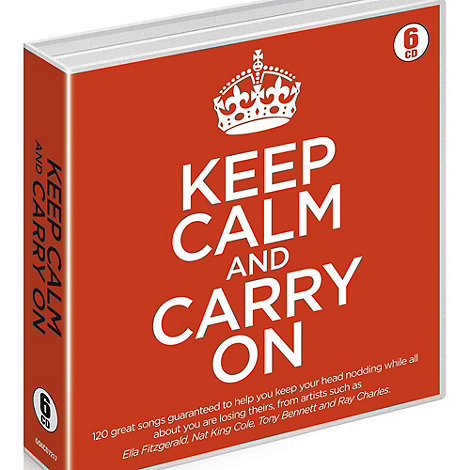 CD - Various Artists - Keep Calm And Carry On