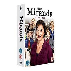 DVD - Miranda - Series 1-3