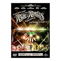 DVD - Jeff Wayne's Musical Version Of The War Of The Worlds   The New Generation   Alive On Stage DVD