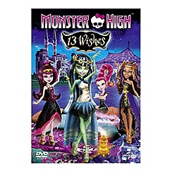 DVD - Monster High: 13 Wishes