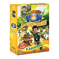 DVD - Tree Fu Tom   Time For Tree Fu   Special Pack With Toy
