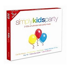 CD - Various Artists - Simply Kids Party