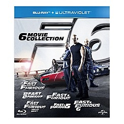 Blu-Ray - Fast & Furious: The 6 Movie Collection (BD+UV)